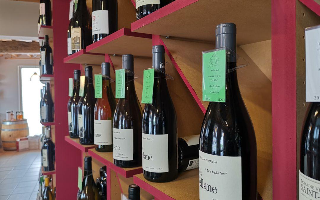 Les vins bio et biodynamiques aux Vents d'Anges